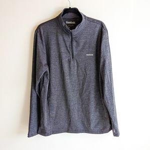 Reebok Running Essentials Quarter Zip - Grey